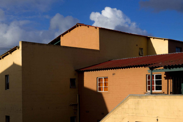 "New houses under being built in Langa, Cape Town. Photograph by Sipho Mpongo from the ""Twenty Journey Project"" - www.twentyjourney.com"