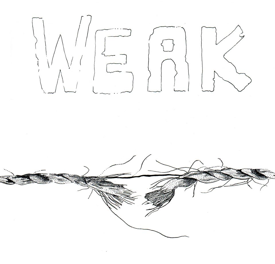 Inktober2018Day15 Weak2
